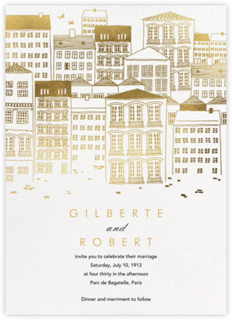 Canal House (Invitation) - Paperless Post - Wedding Invitations