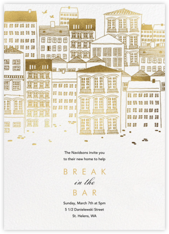 Canal House - Paperless Post - Housewarming party invitations
