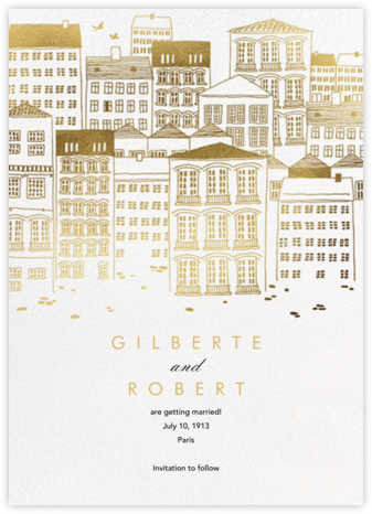 Canal House - Paperless Post - Save the dates
