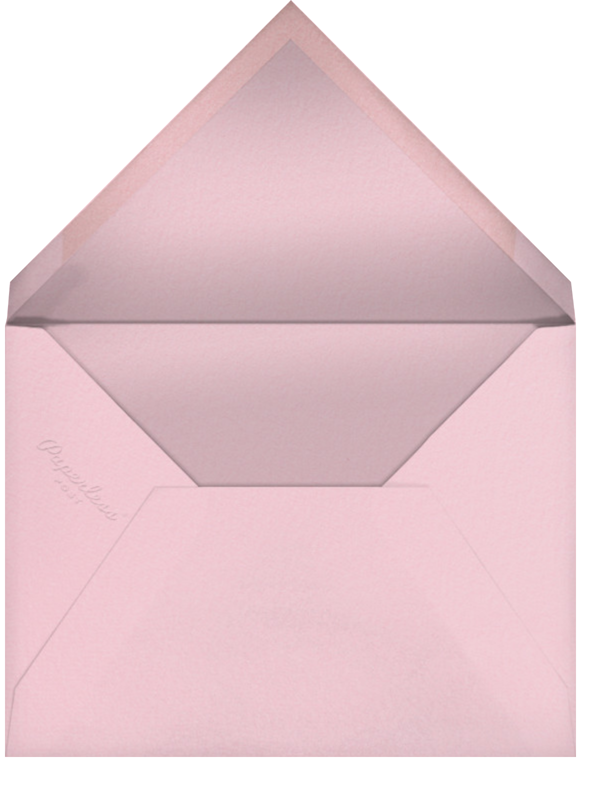 Shake N Roll - Silver - Paperless Post - Cocktail party - envelope back