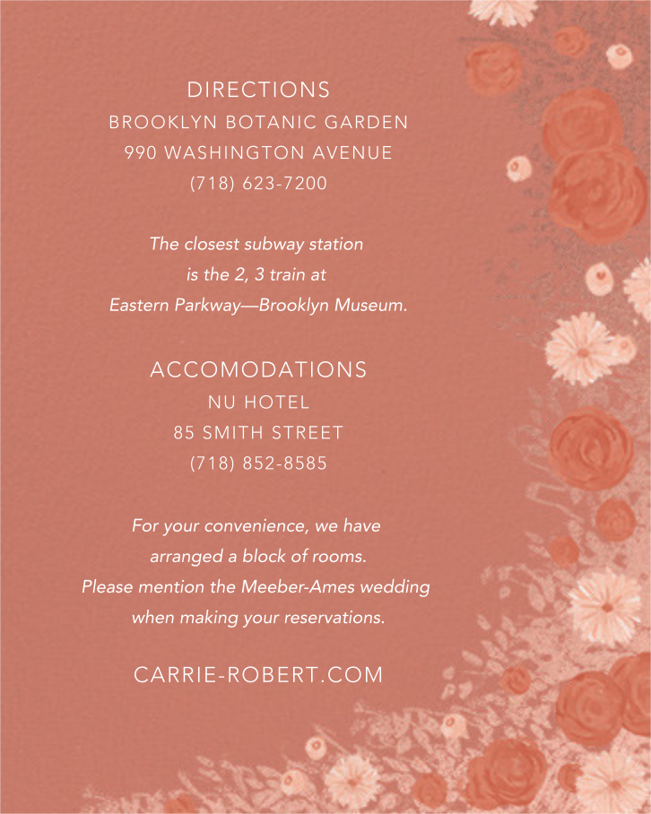 Centifolia (Invitation) - Rose Gold - Paperless Post - All - insert front