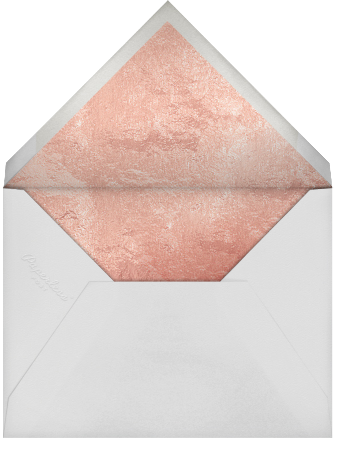 Centifolia - Rose Gold - Paperless Post - Mother's Day - envelope back