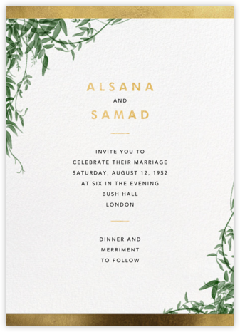 Deanei (Invitation) - Paperless Post - Wedding invitations