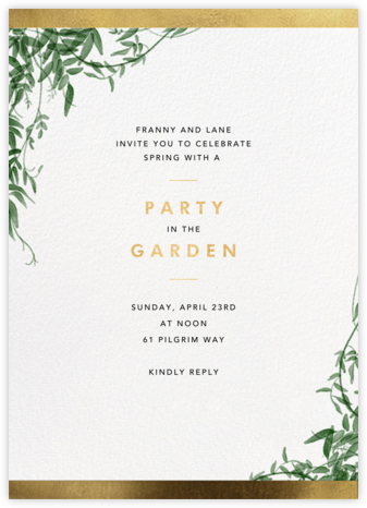 Deanei  - Paperless Post - Invitations for Parties and Entertaining