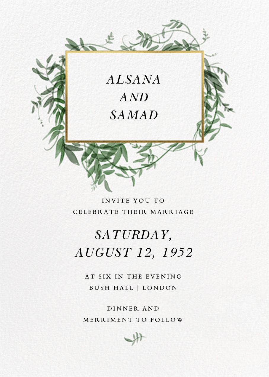 Thirlmere (Invitation) - Paperless Post - Wedding invitations
