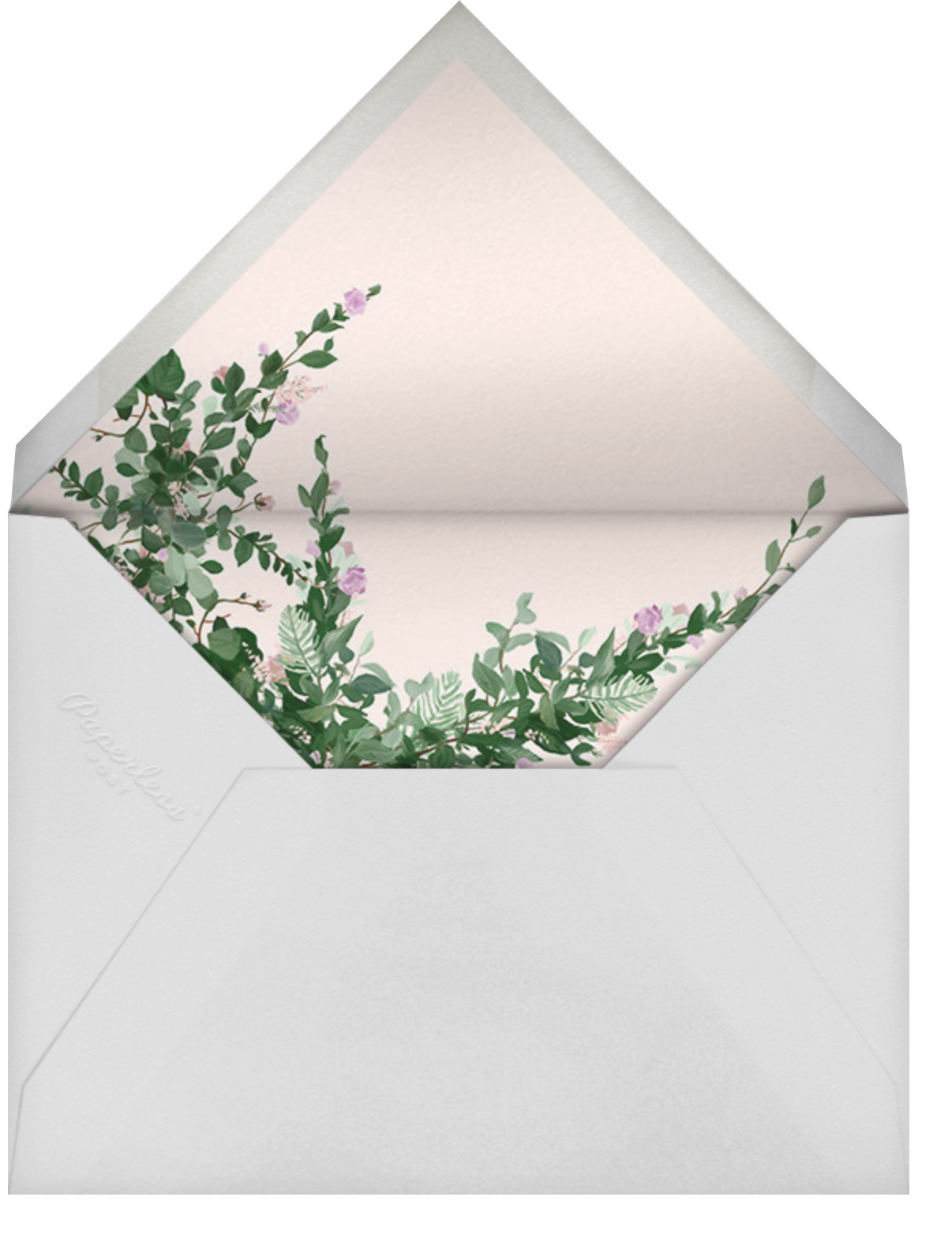 Rosedal (Invitation) - Lilac - Paperless Post - All - envelope back