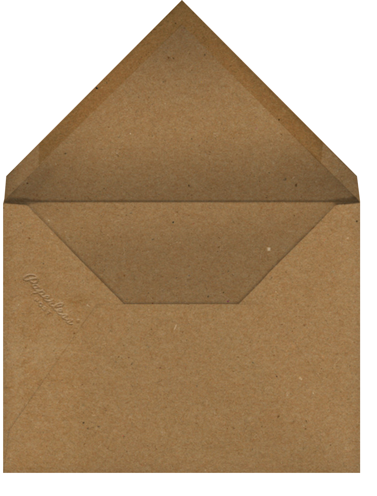 Sawtooth (Square) - Paperless Post - Graduation party - envelope back