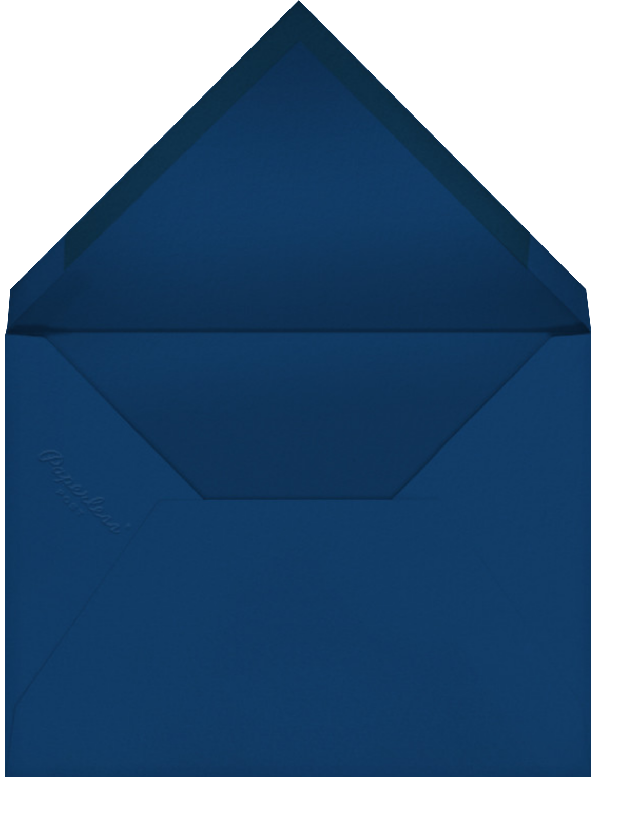 Hey Handsome - Paperless Post - Just because - envelope back