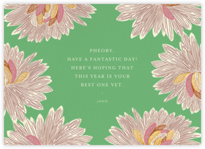 Mumsy - Meadow - Anthropologie - Birthday