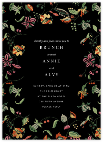 Sloane Street - Anthropologie - Wedding weekend