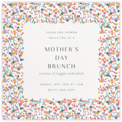 Tender Buttons - White - Anthropologie - Online Mother's Day invitations