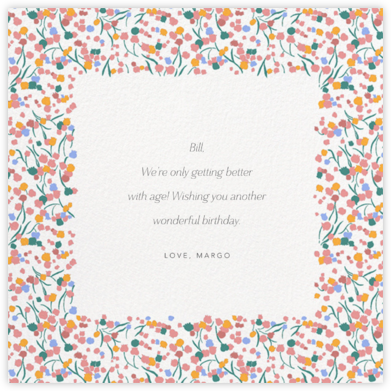 Tender Buttons - White - Anthropologie - Birthday Cards