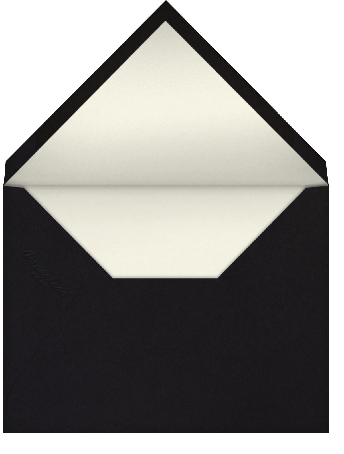 Ottoman Floral - Black - Oscar de la Renta - Envelope