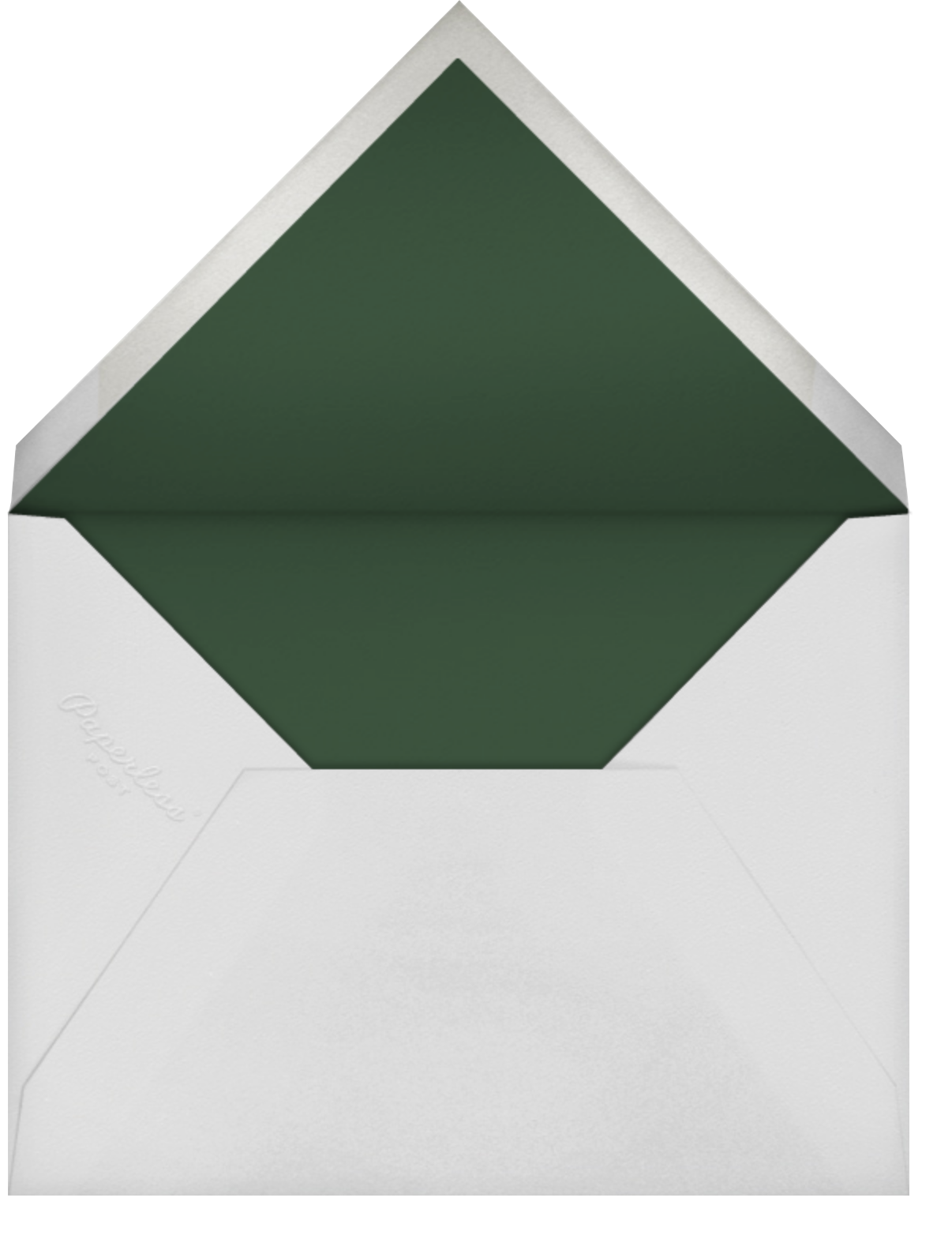 Wildflower Cuttings - Blossom - Oscar de la Renta - Adult birthday - envelope back