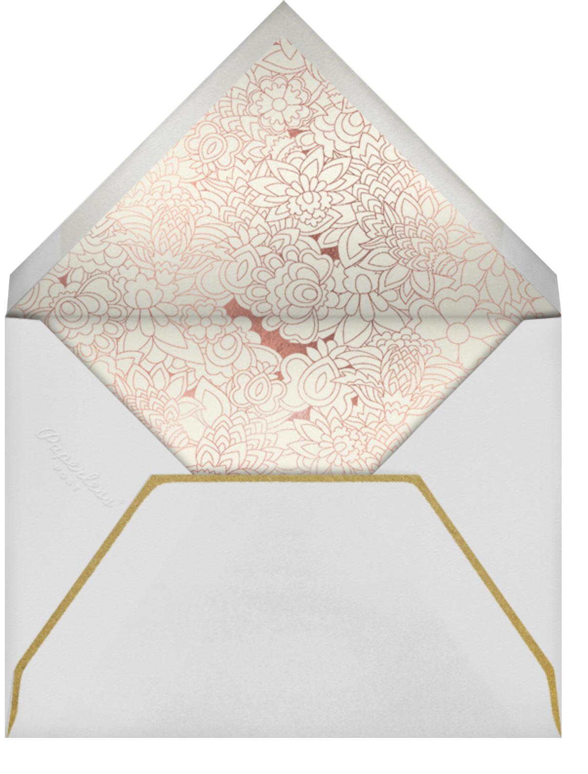 Sanganeri (Invitation) - Samphire - Paperless Post - Indian - envelope back
