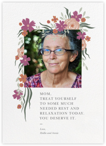 Spring Impasto - Paperless Post - Mother's Day Cards