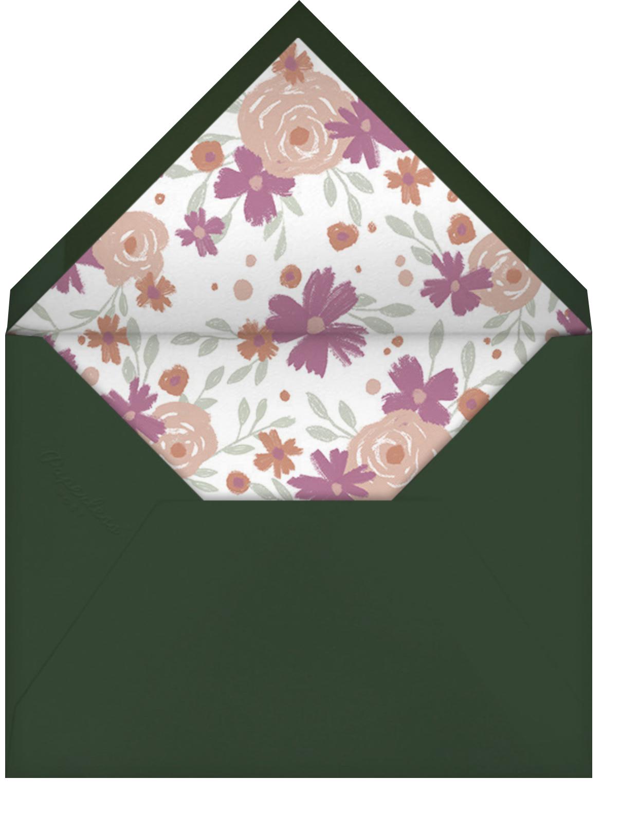 Spring Impasto - Paperless Post - Bridal shower - envelope back