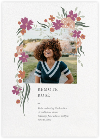 Spring Impasto - Paperless Post - Virtual Parties