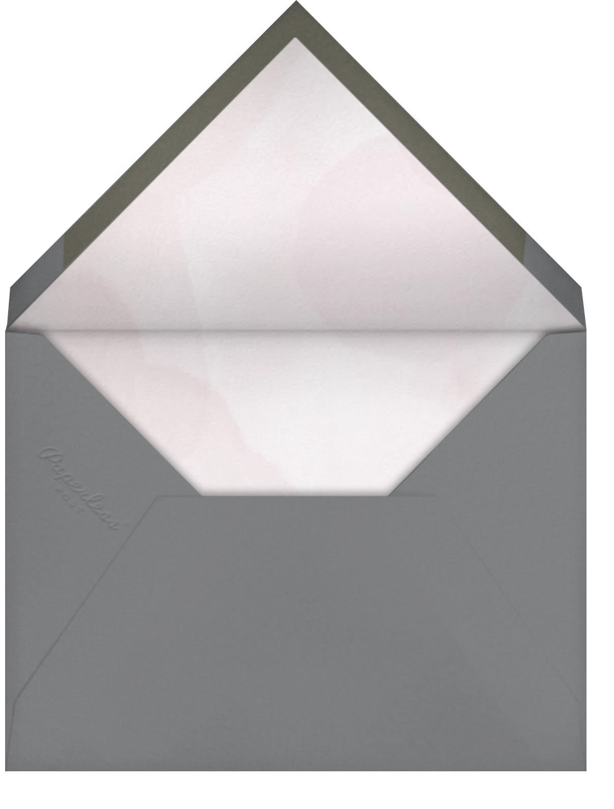 May Belle (Invitation) - Tea Rose - Paperless Post - 1st birthday - envelope back