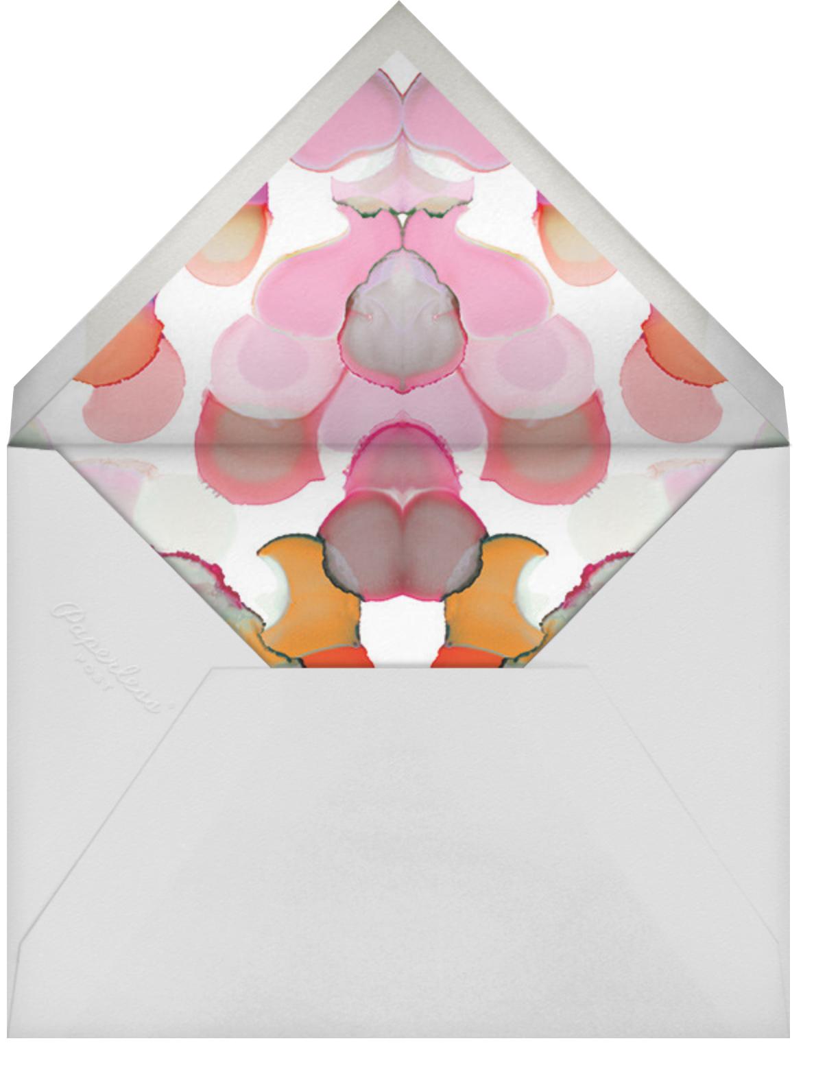 Bright Spots - Pink - Ashley G - Kids' birthday - envelope back