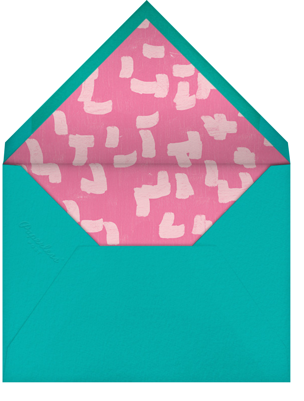 Confetti Cascade - Ashley G - Kids' birthday - envelope back