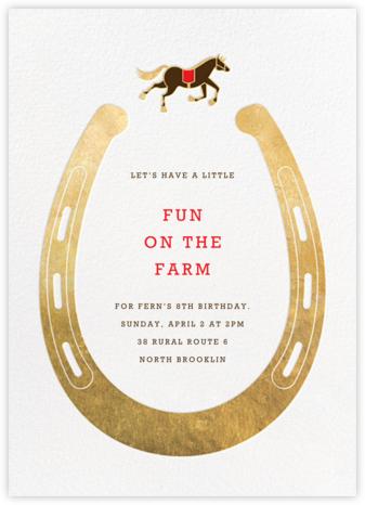 Dead Ringer - Paperless Post - Online Kids' Birthday Invitations