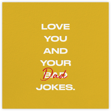 Dad Jokes - Paperless Post - Father's Day Cards