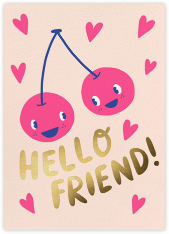 Best Buds - Hello!Lucky - Valentine's day cards