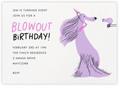 Blowout (Invitation) - Hello!Lucky - Online Kids' Birthday Invitations