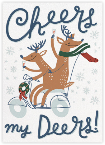 Cheers Deers - Hello!Lucky - Funny Christmas eCards