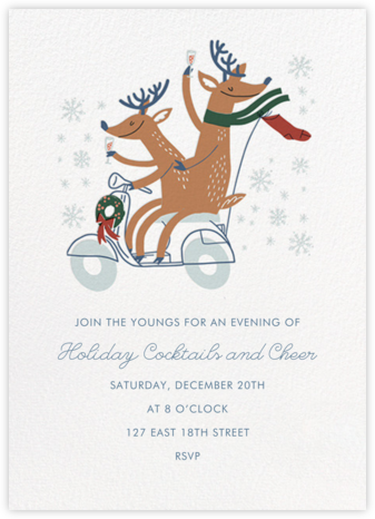 Cheers Deers (Invitation) - Hello!Lucky -