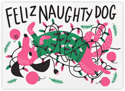 Feliz Naughty Dog | horizontal