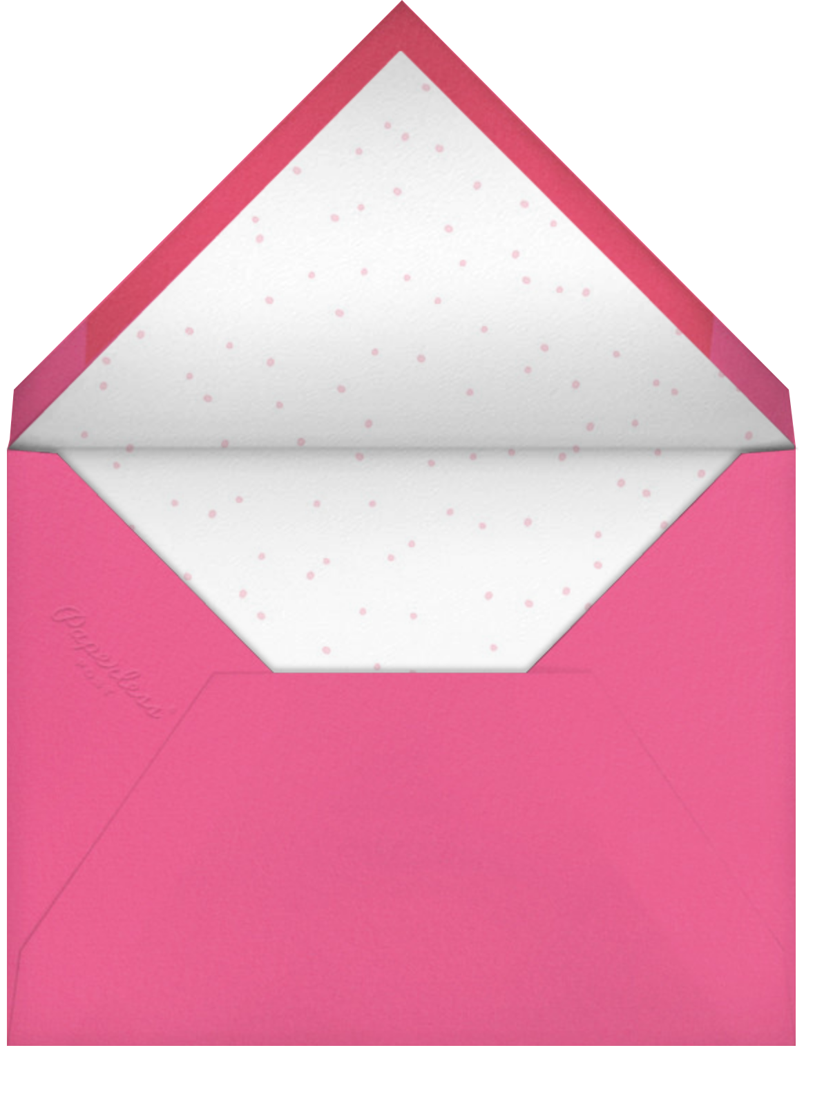 Feliz Naughty Dog - Hello!Lucky - Christmas - envelope back