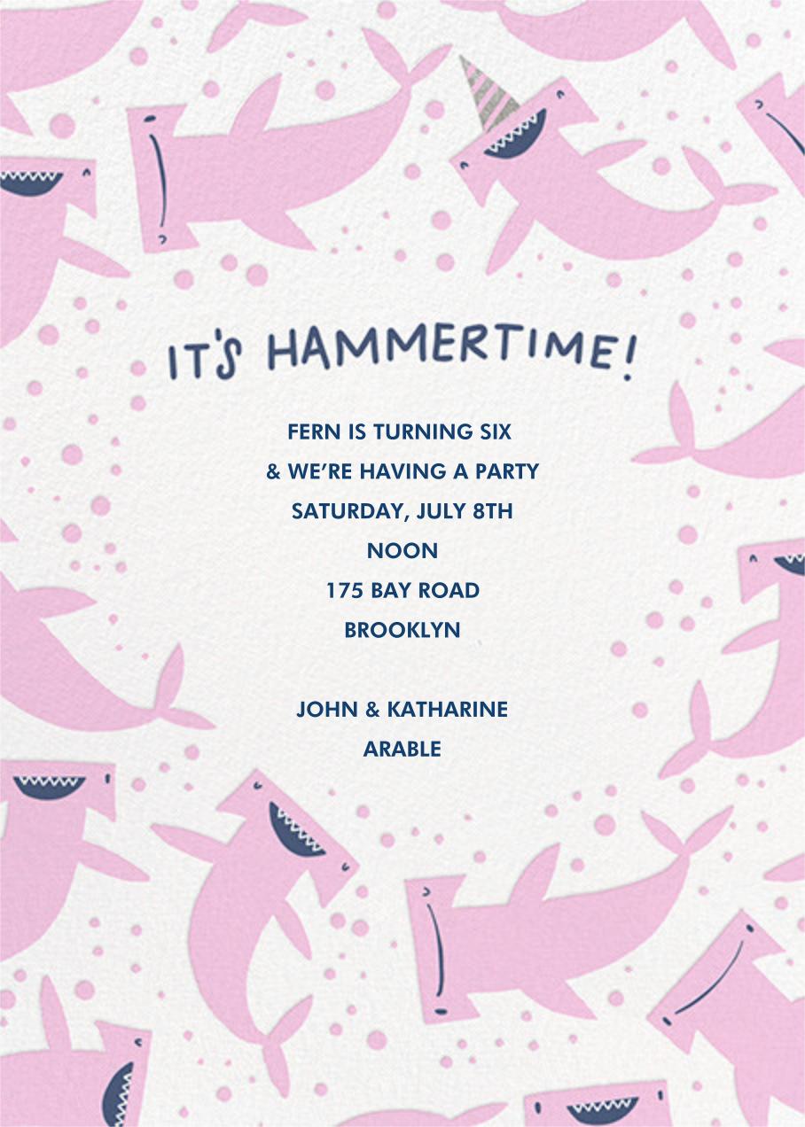 Hammertime (Invitation) - Hello!Lucky -