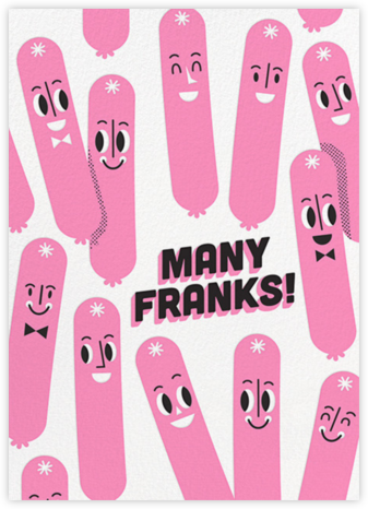 Many Franks - Hello!Lucky - Graduation Thank You Cards