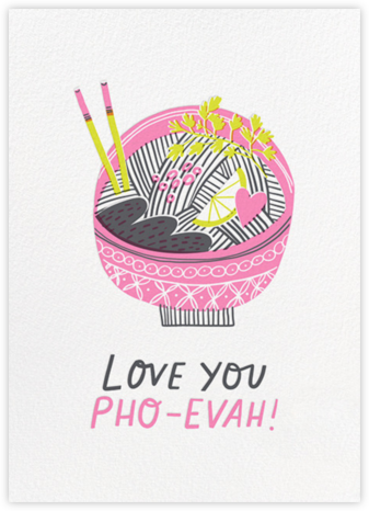 Pho Evah - Hello!Lucky - Valentine's Day Cards