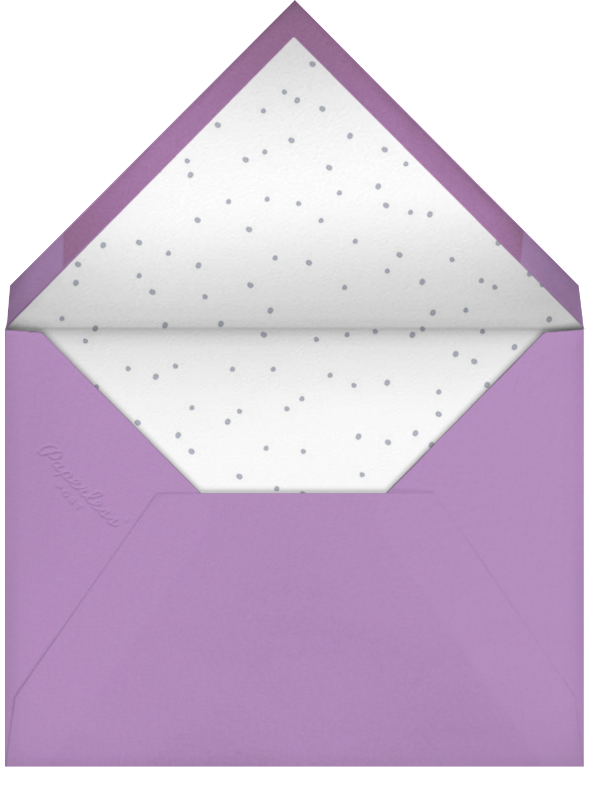 I Really Clam Sorry - Hello!Lucky - Belated birthday cards - envelope back