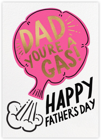 You're a Gas - Hello!Lucky - Father's Day cards