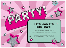 Kids' birthday invitations - online at Paperless Post