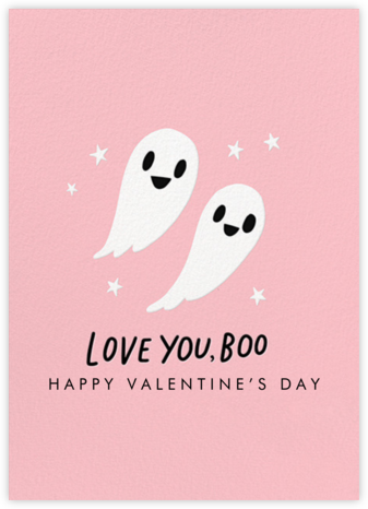 Love You Boo - Hello!Lucky - Valentine's day cards