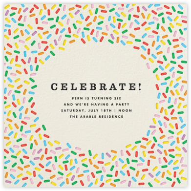 Sprinkles - Celebrate - The Indigo Bunting -