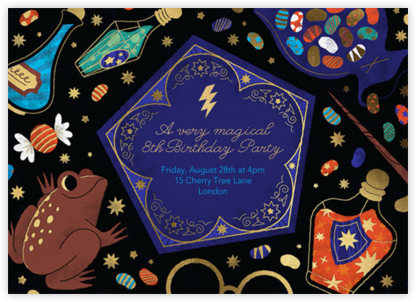 Spells and Sweets - Paperless Post - Online Kids' Birthday Invitations