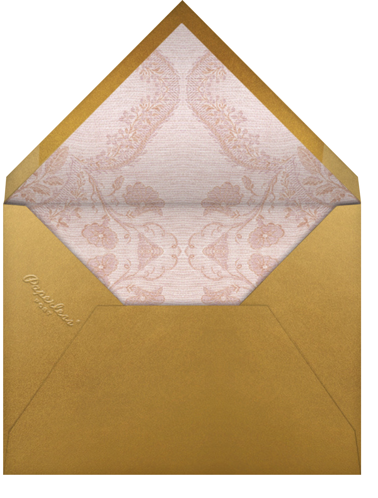 Rosalie (Invitation) - Brock Collection - All - envelope back