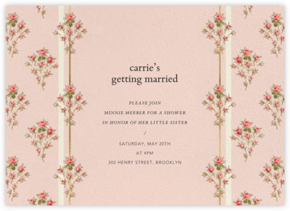 Rosalie - Brock Collection - Bridal shower invitations