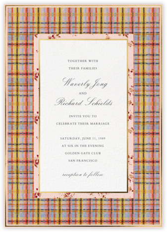 Clara (Invitation) - Brock Collection -