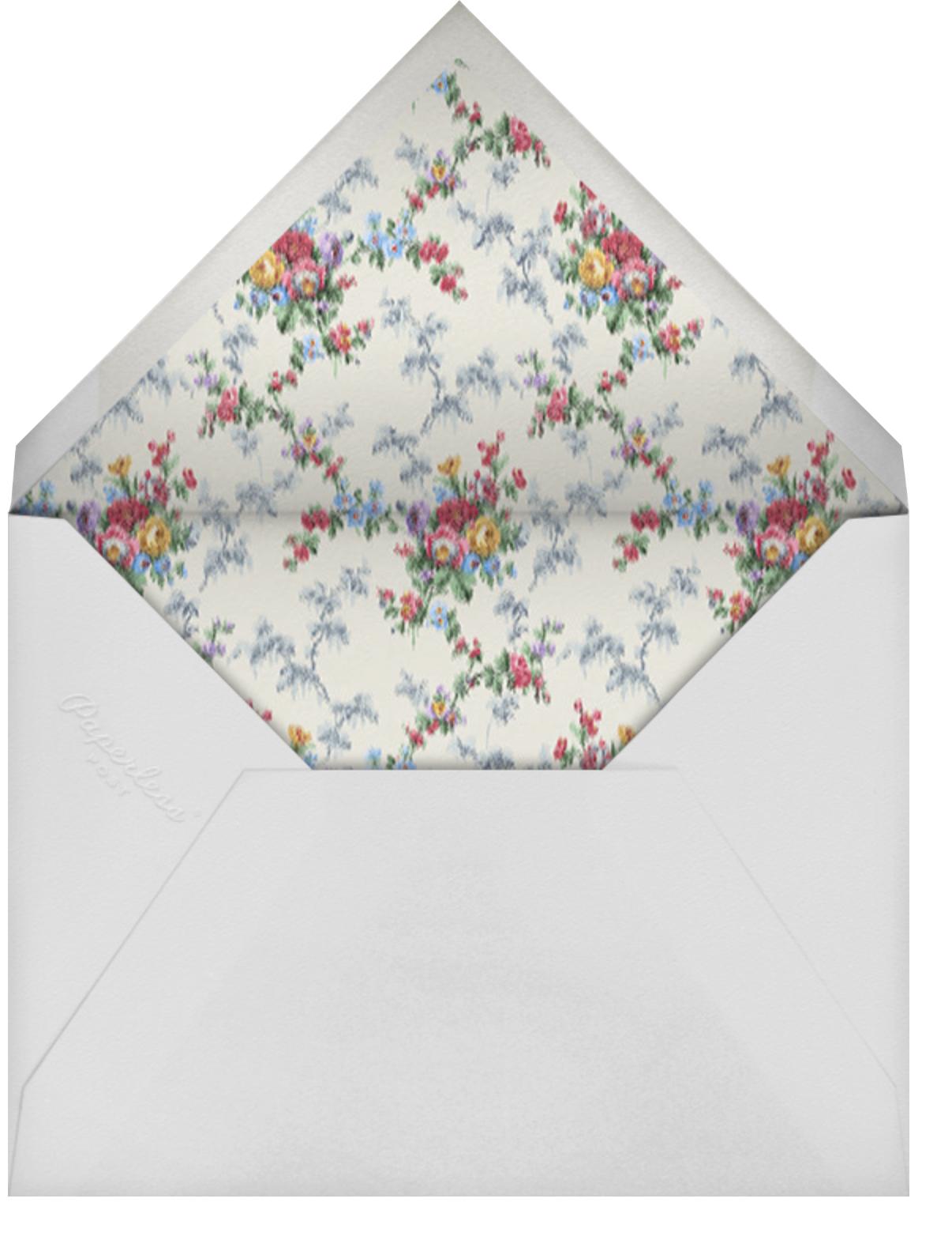 Marguerite (Invitation) - Brock Collection - All - envelope back