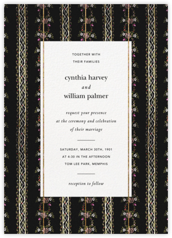 Greta (Invitation) - Brock Collection - Wedding Invitations