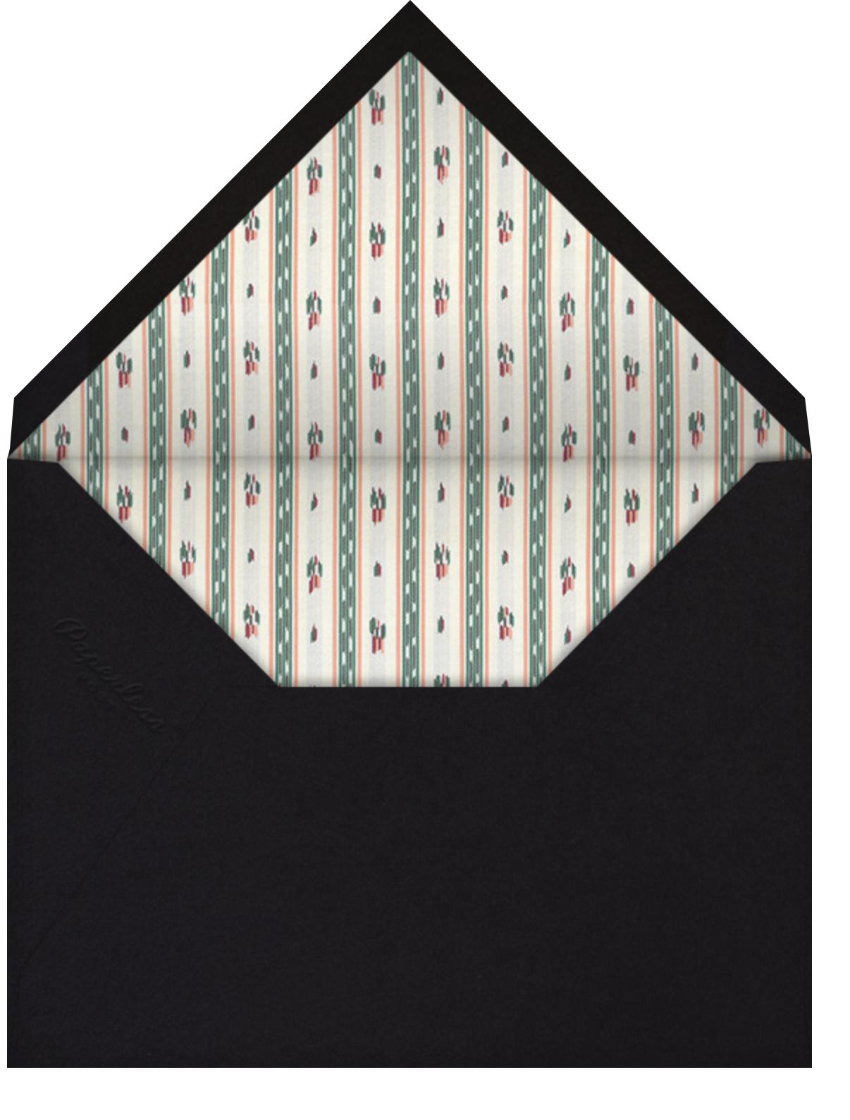 Greta - Brock Collection - General entertaining - envelope back