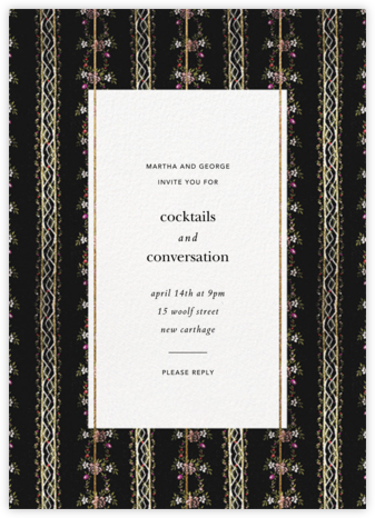 Greta - Brock Collection - Autumn entertaining invitations