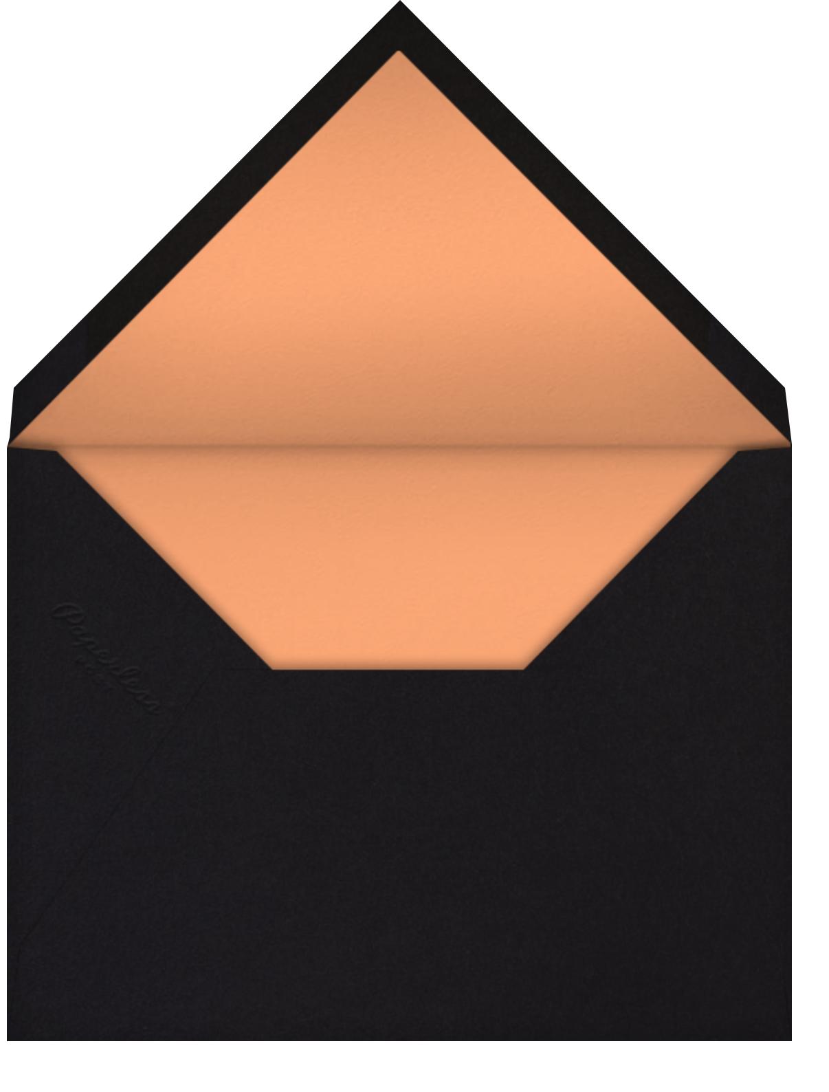 Aura - Orange - Radiant Human - Adult birthday - envelope back